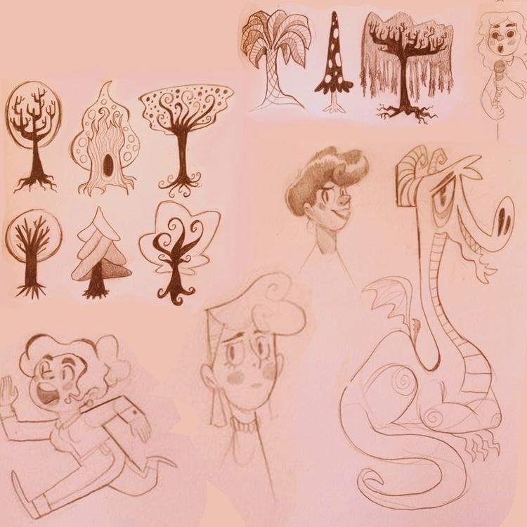 page sketchbook - sketch, doodle - jessdrawz | ello