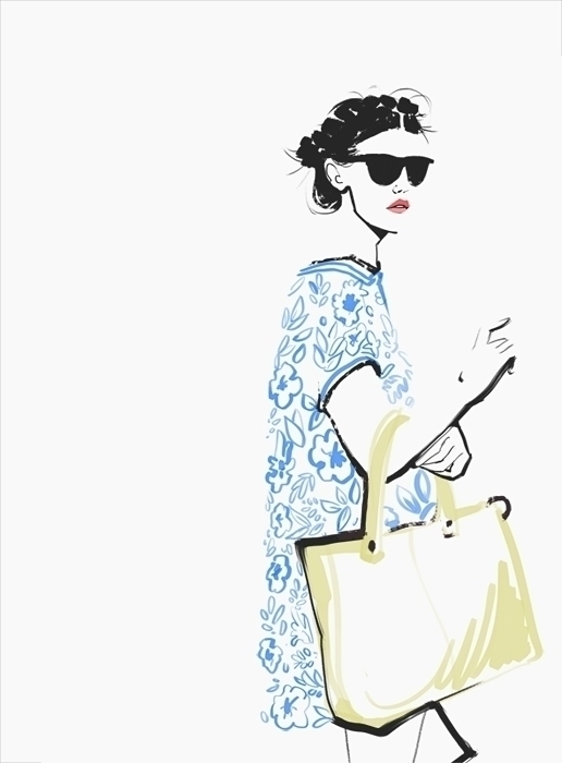 Reserved Windows illustration - fashion - murysina   ello