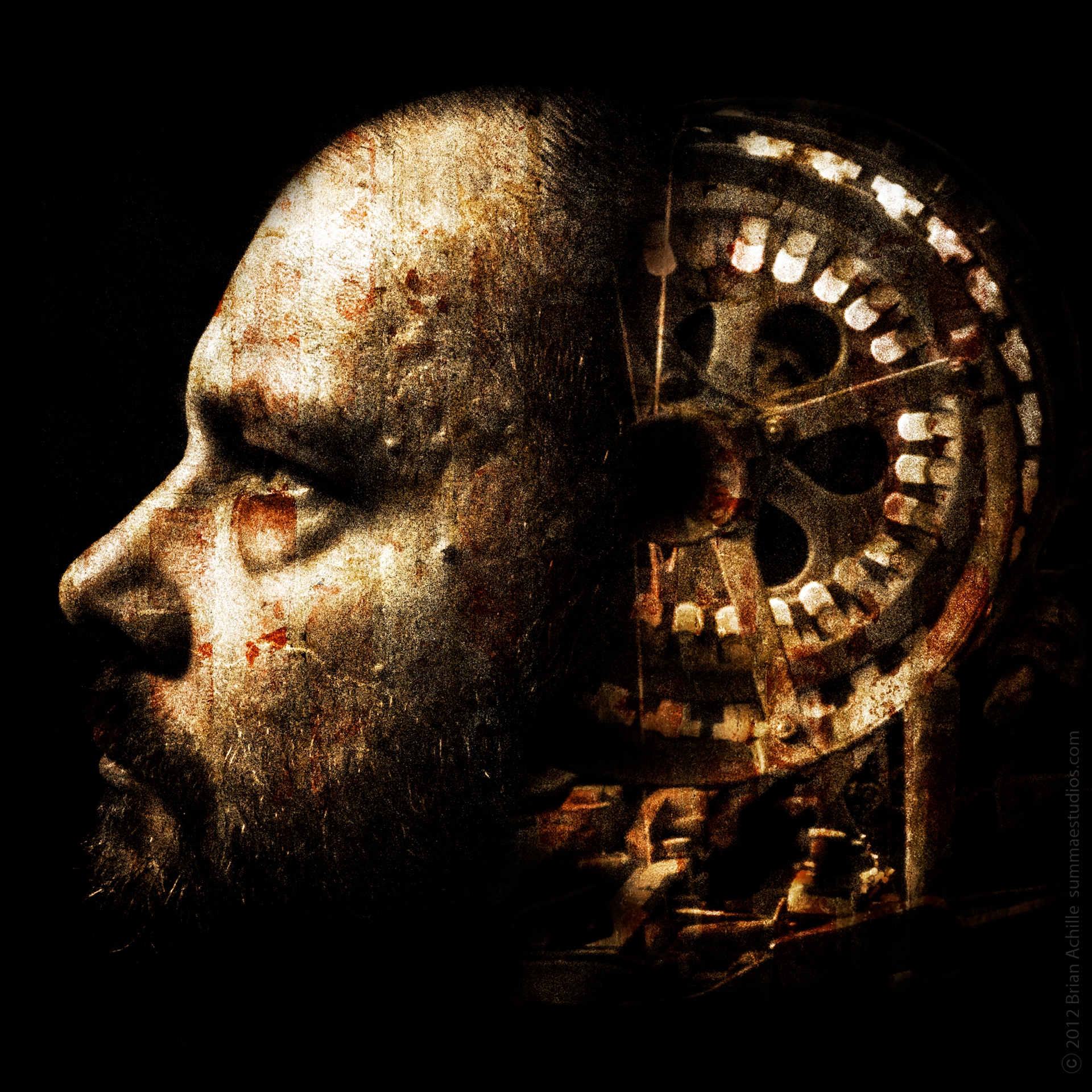 mind feels antiquated machine - #digitalart - brian_of_summaestudios | ello