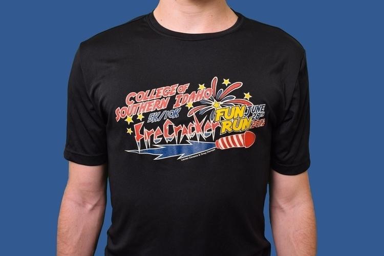 Firecracker Run - logo, logodesign - laurentesch | ello