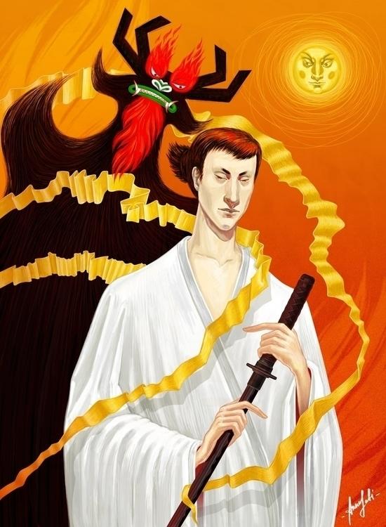 'Samurai Jack' Digital artwork  - annaorca | ello