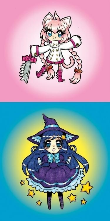 Cute Character Samples - illustration - laurentesch | ello
