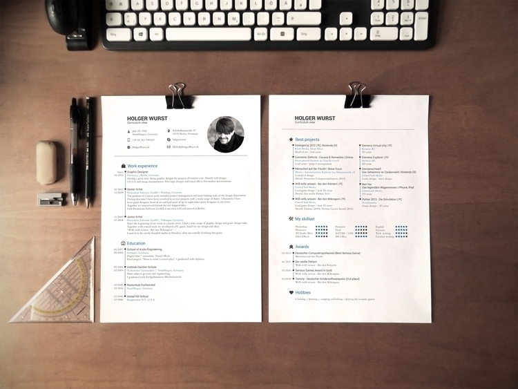 Application Documents - 1, cv, temple - holger-1323 | ello