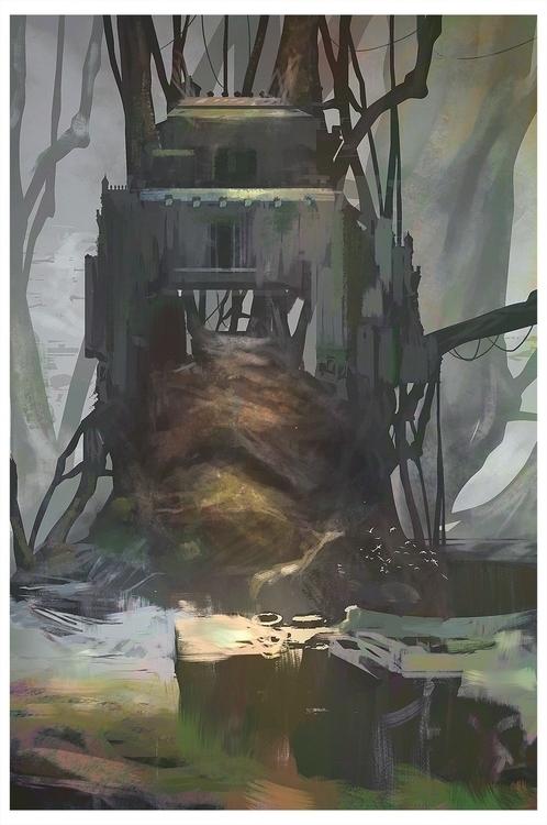 Forest_Castle - environmentconcept - fenris-1300 | ello