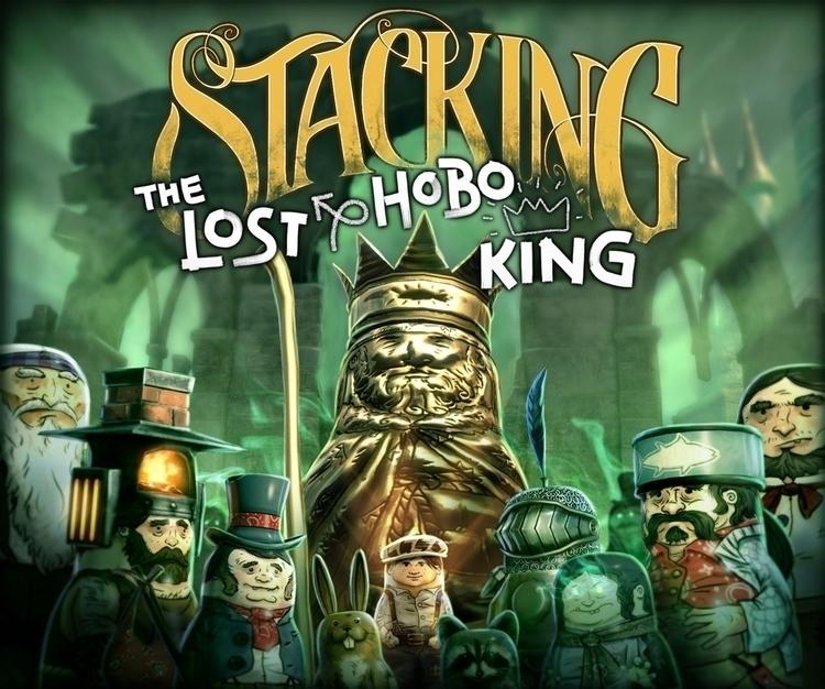Key art Stacking DLC, Lost Hobo - lpetty | ello