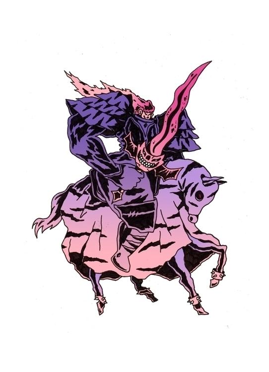 illustration, knight, quentingomzé - gomze | ello