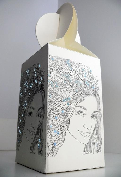 lampshade fabriana card form pa - sheree-3254   ello