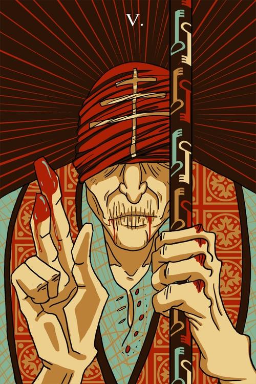 Heirophant - illustration, tarot - wingywonky-5811 | ello