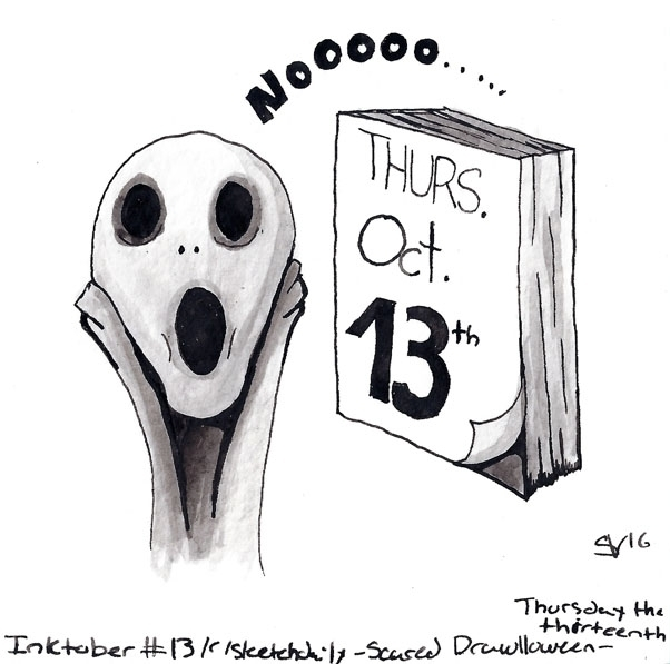 theme - Scared Drawlloween2016  - svaeth   ello