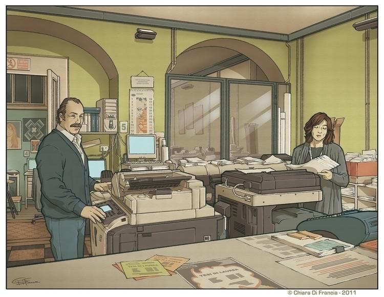Commission - tipografia, illustration - chiaradifrancia | ello
