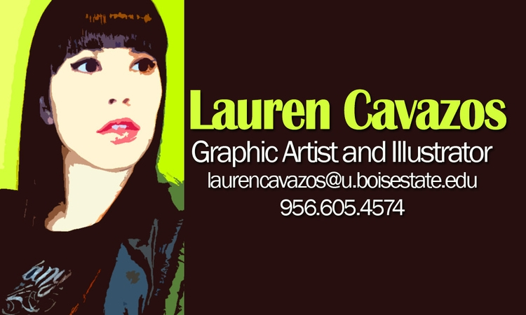 Business Card Sample - design, layoutdesign - laurentesch | ello