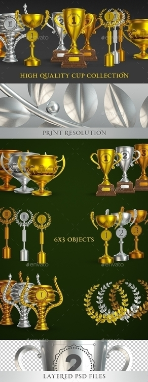Cup Collection - illustration, cup - zionart   ello