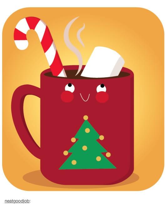 Hot chocolate, straight bed - cute - beccasyracuse | ello