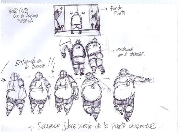 Character study short animation - rcluet | ello