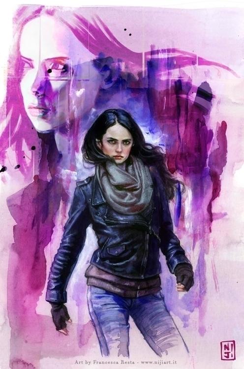 Jessica Jones - fanart - illustration - niji-4647 | ello
