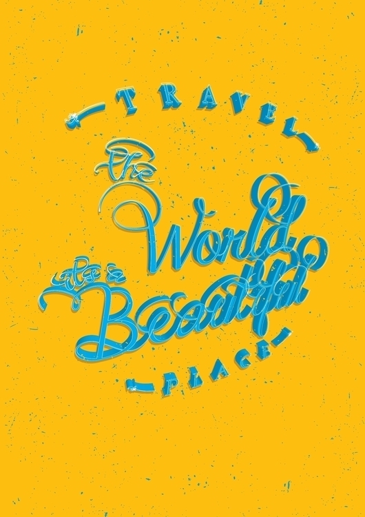 travel, traveling, typography - dnscr | ello