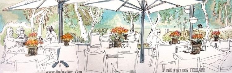 Restaurant Scene - illustration - liora-1444 | ello