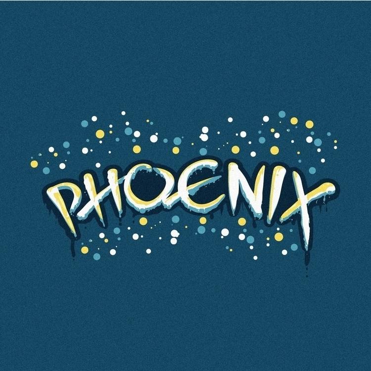 rise - phoenix, lettering, letter - dnscr   ello