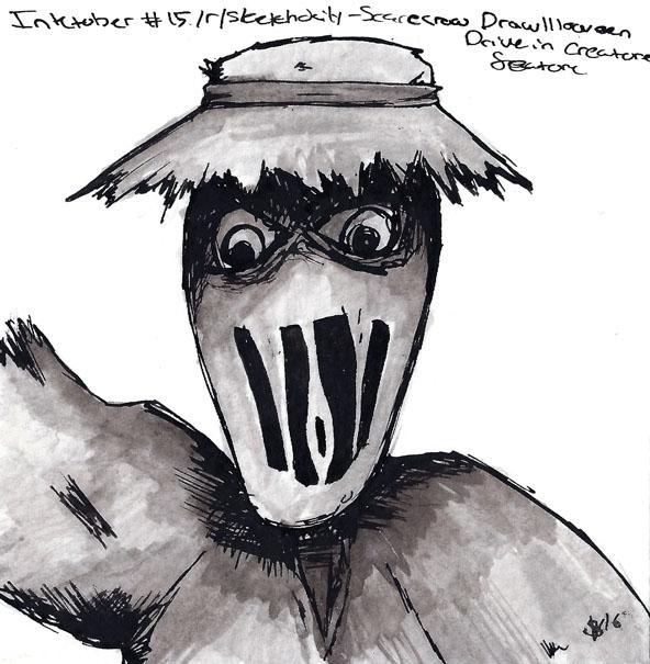 theme - Scarecrow Drawlloween20 - svaeth | ello