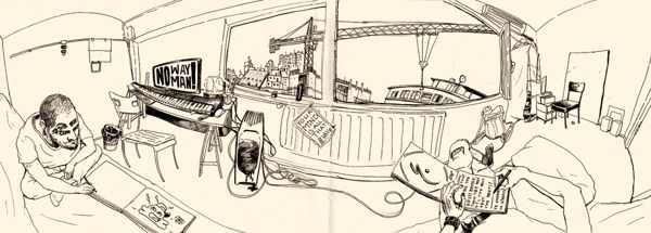 panorama drawing, pen time, sum - ofgiorge | ello