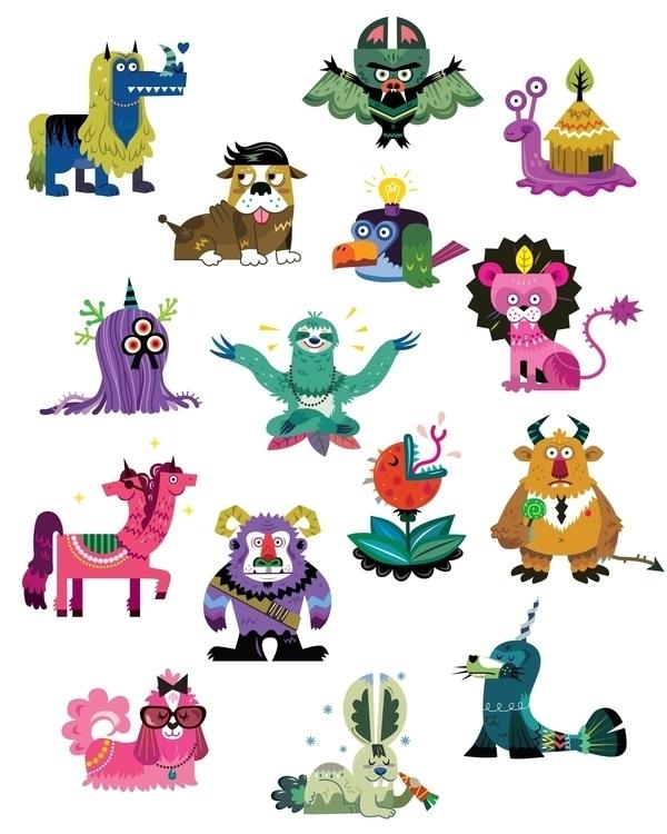 Monster Wallet - monster, characterdesign - ping-7637 | ello