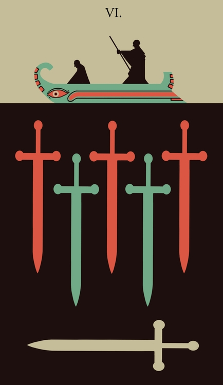 Swords - illustration, tarot - wingywonky-5811 | ello