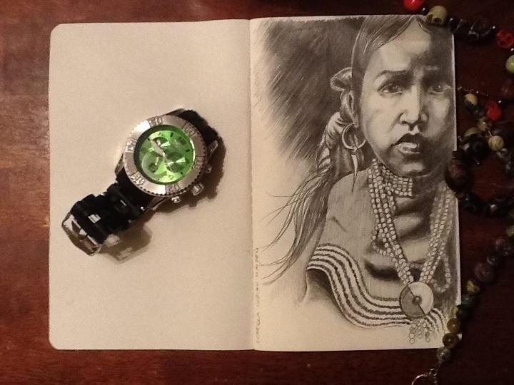 Portrait study sketchbook antiq - tobinpilotte | ello