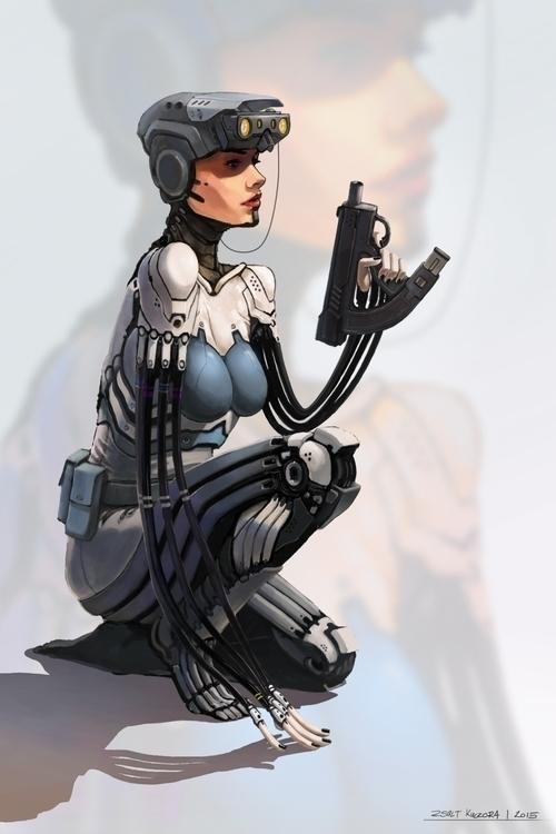 illustration, painting, characterdesign - qci | ello
