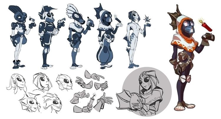 Argyn - characterdesign - emanuelearnaldi | ello