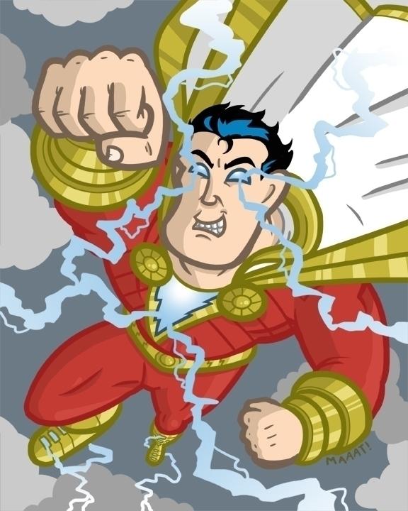 Shazam - dccomics, superhero, shazam - mattyleegross | ello