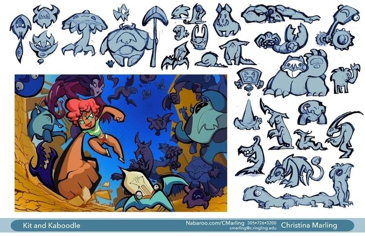 Kit Kaboodle monster designs pr - cmarling | ello