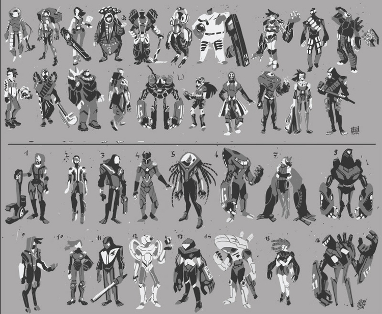 character process - 1 thumbnail - emanuelearnaldi | ello
