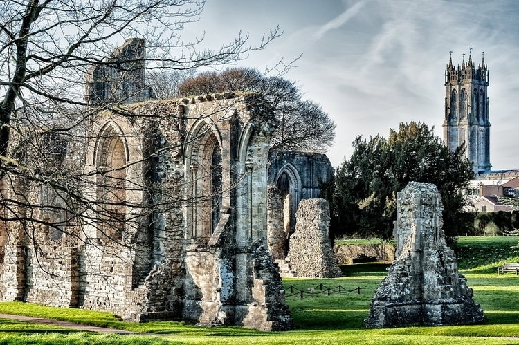 Faith Transition - abbey, glastonburyabbey - cliveayron | ello