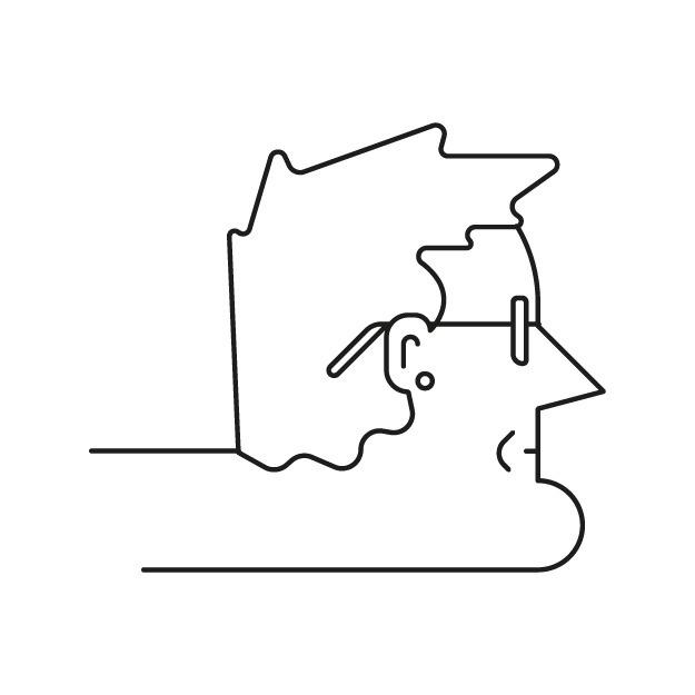 Rob Thomas - face, pattern, vectorillustration - deividsaenz   ello
