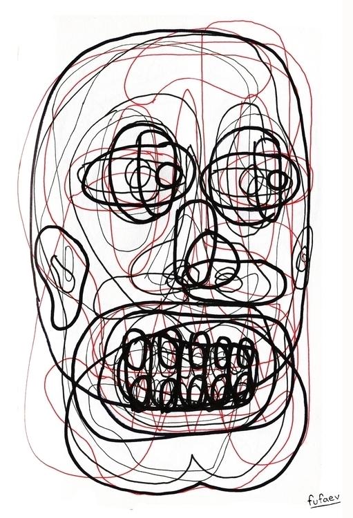 illustration, painting, drawing - nickerfe | ello