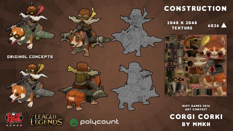 characterdesign, conceptart, gameart - mmkh-5844 | ello