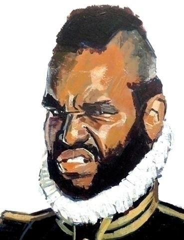 Portrait Othello, Pulp Classics - lissaphooka | ello