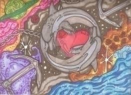 Heart Sea Nebula - werechild1983 | ello