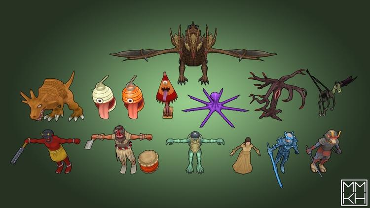 creatures, characterdesign, characters - mmkh-5844 | ello