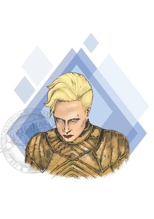 Brienne Tarth - brienneoftarth, gameofthrones - betka_past   ello