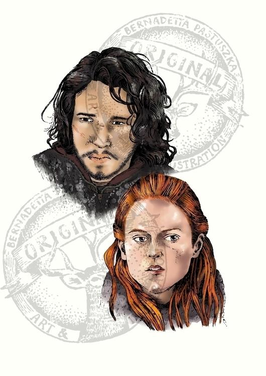 Jon Snow Ygritte - jonsnow, ygritte - betka_past | ello