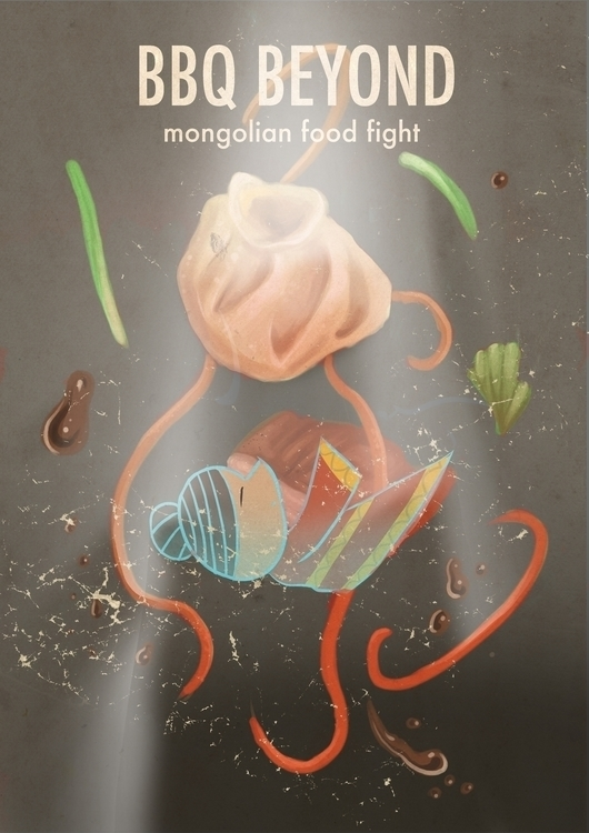 bbq, illustration, foodillustration - jjscottillustration | ello