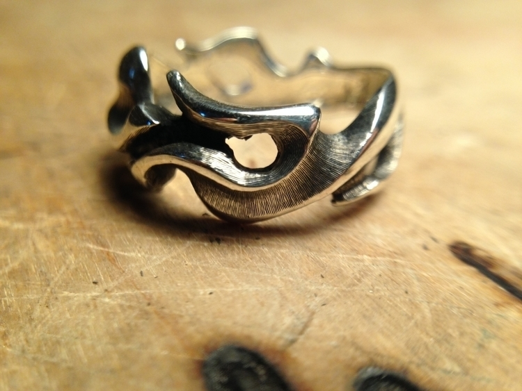 Neni silver 925 ring - microfusion - andrepanz | ello