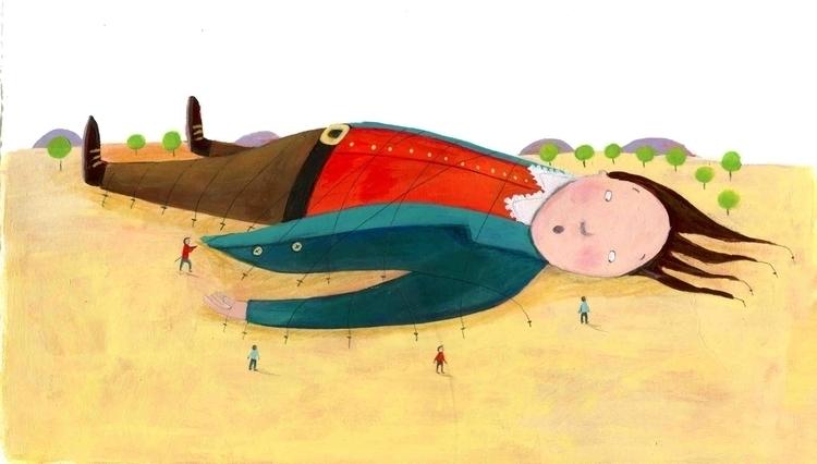 Viaggi di Gulliver - illustration - francescaassirelli | ello