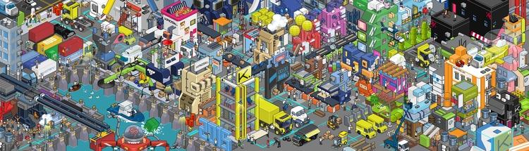 KROST 2015 - pixelart, digitalart - riestagema | ello