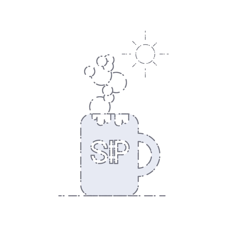 sip - design, illustration - dnscr | ello