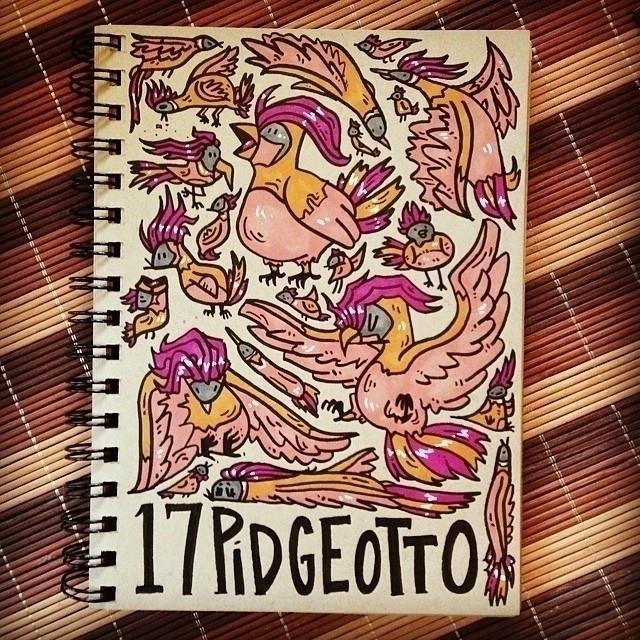 Pidgeotto - pidgeotto, pokemon, sketch - carolinedirector | ello