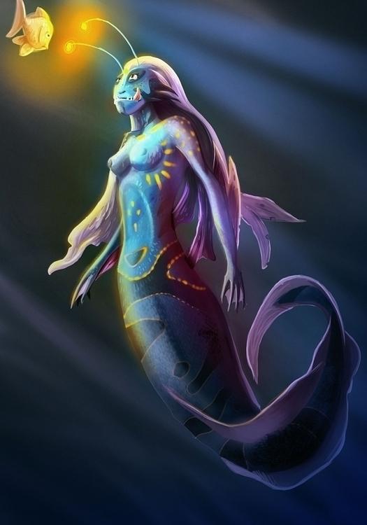 Mermaid - yourizered | ello