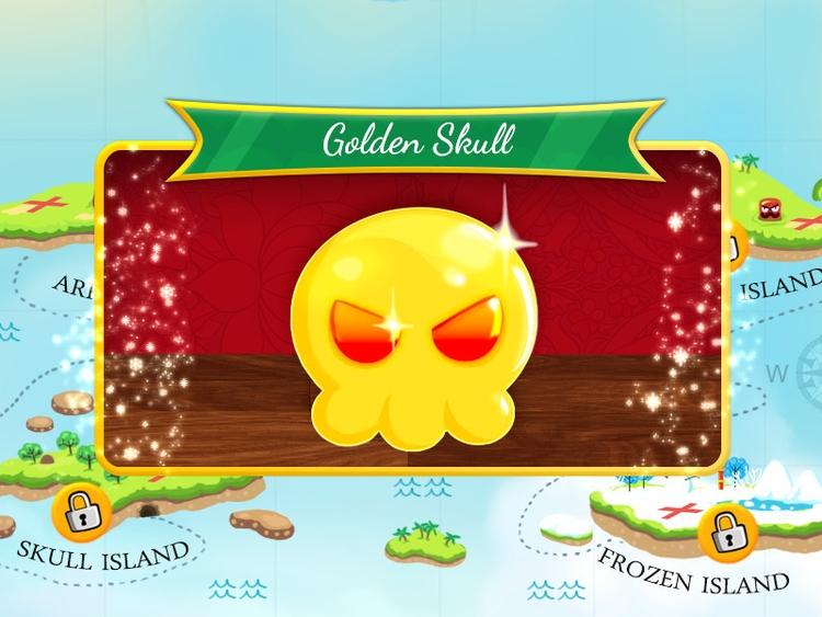Golden skull - ikigames,nagiQ2,treasure,videogame,illustration,photoshop,map,golde,gold, - xklibur | ello