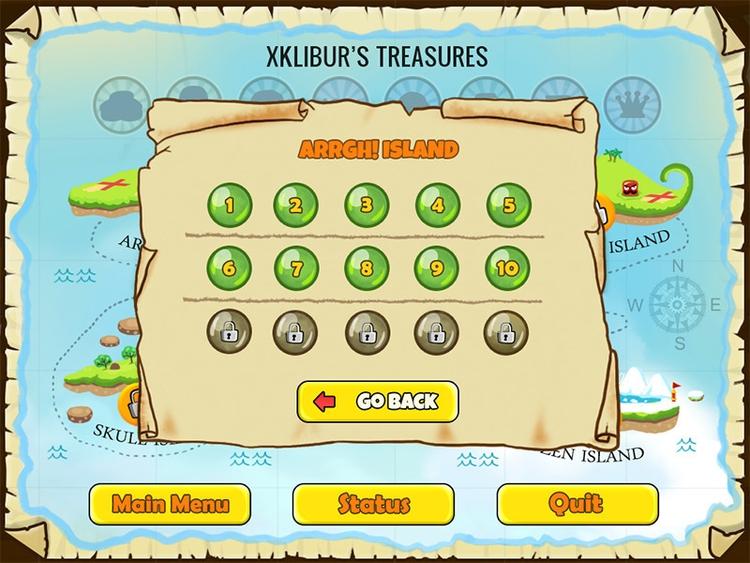 Level selection scene NagiQ 2 - ikigames,nagiq2,illustration,videogame,games,word - xklibur | ello